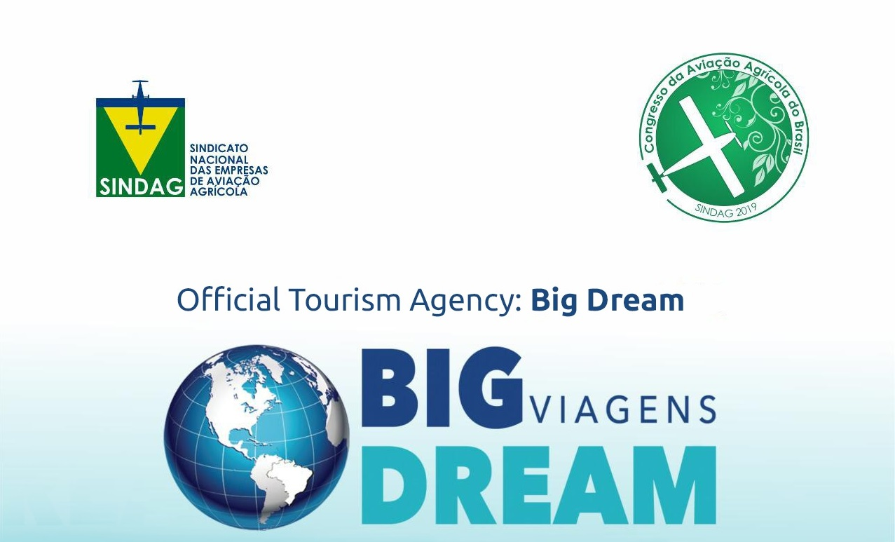 Big Dream Travel Agency is the official company of the 2019 Agricultural Aviation Congress