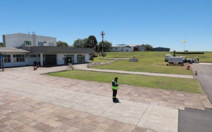 Aeroporto de Passo Fundo interditado para obras de melhorias